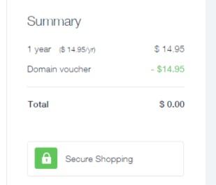 wix domain invoice